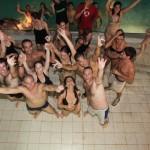 אירוע בבריכה מחוממת
